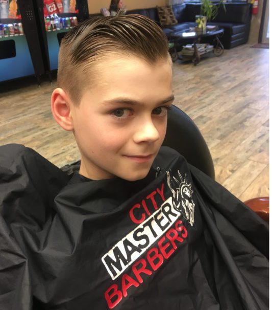 Young Men Haircut (under 10)
