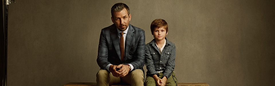 Father & Son Haircut (under 10 years old) $25